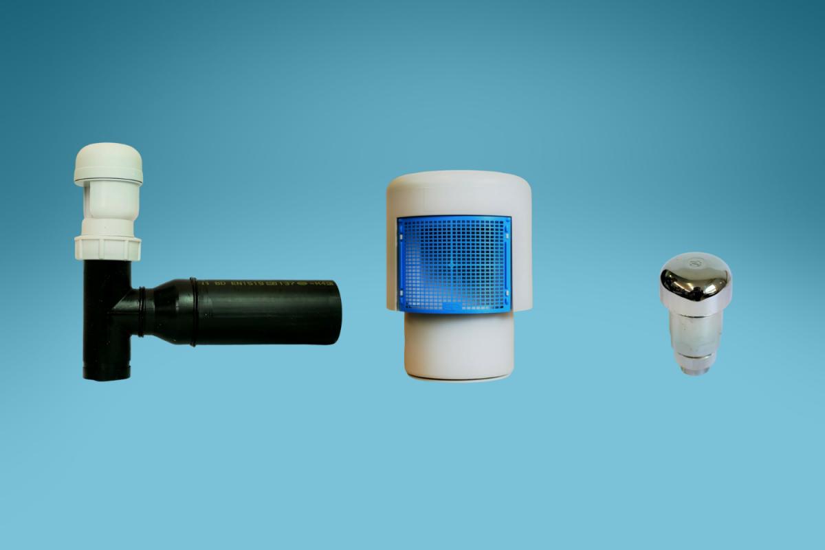 Aérateur de tuyaux - aérateur de conduit - soupape anti-vide