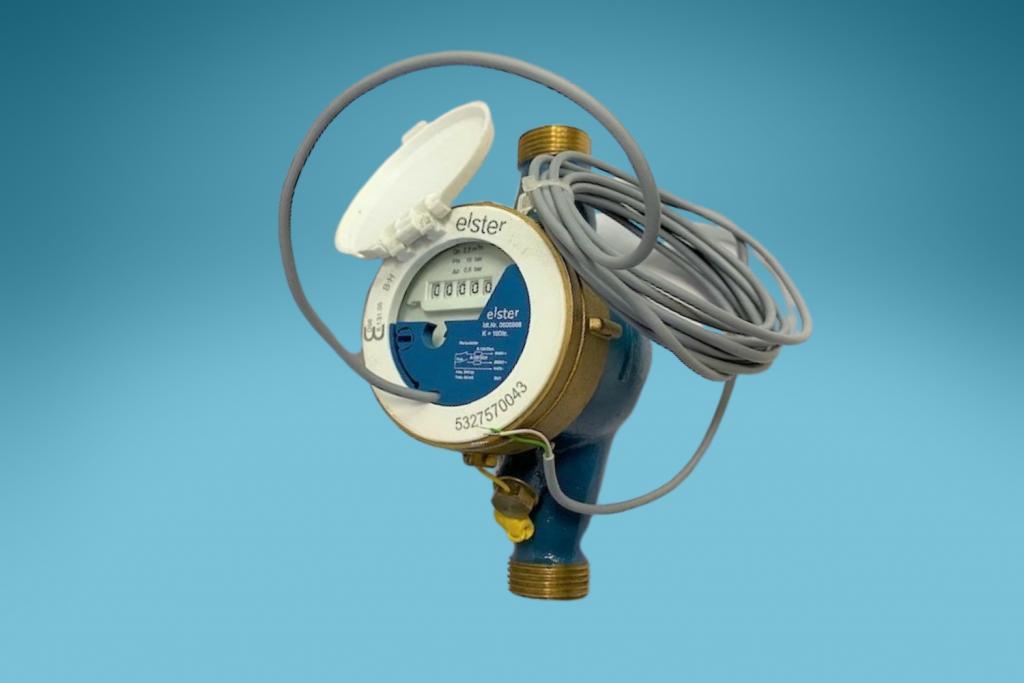 Hauswasserzähler Qn 2,5 für Kaltwasser - Mehrstrahlzähler Kaltwasser