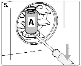 Rohrunterbrecher Einbau Schritt 4