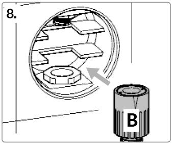 Rohrunterbrecher Einbau Schritt 8