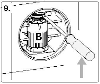 Rohrunterbrecher Einbau Schritt 9
