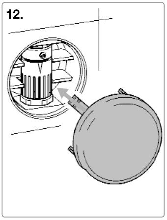 Rohrunterbrecher Einbau Schritt 12